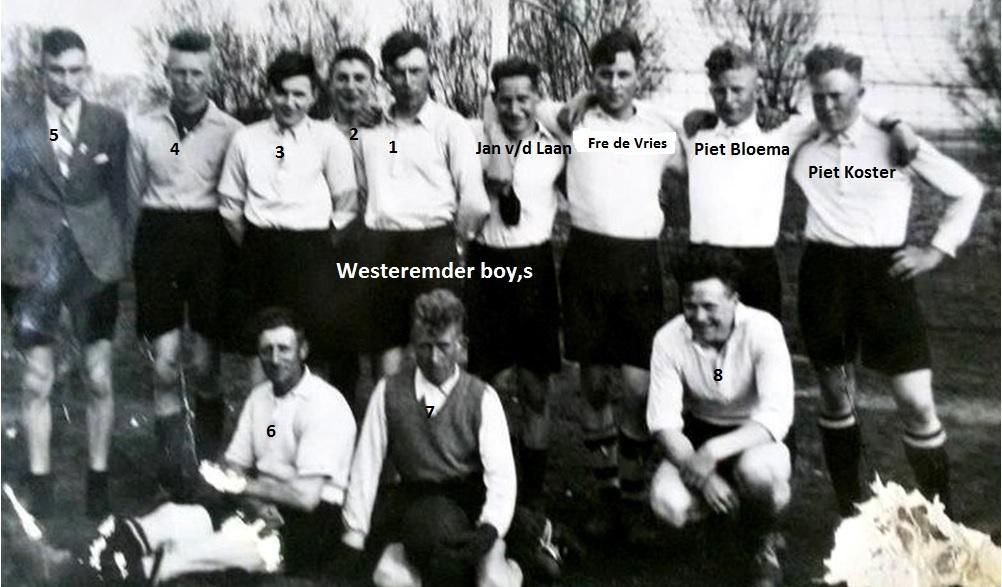 Westeremderboys 1949 nieuw
